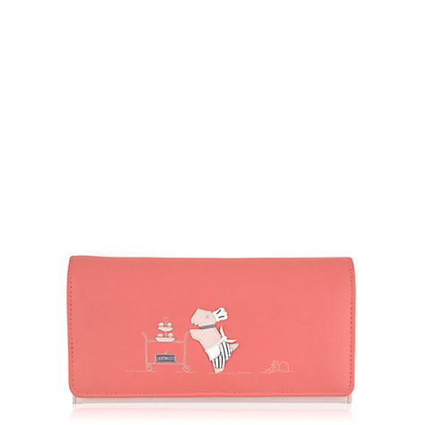 Buy Radley Patisserie Large Flap-Over Wallet, Pink Online at johnlewis.com