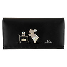 Buy Radley Patisserie Large Flap-Over Wallet, Black Online at johnlewis.com