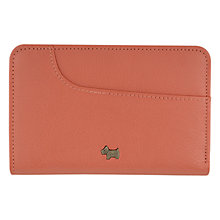 Buy Radley Pocket Bag Zip Wallet, Coral Online at johnlewis.com