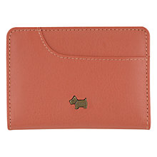 Buy Radley Pocket Bag Card Holder, Coral Online at johnlewis.com