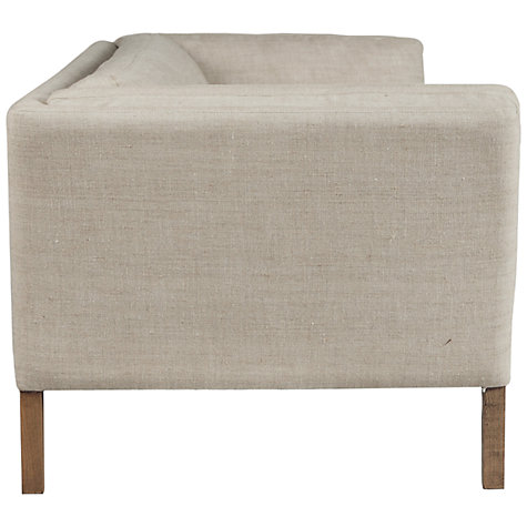 Buy Halo Groucho Armchair, Linen Online at johnlewis.com