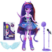 Buy My Little Pony Equestria Girls Rainbow Rocks Dolls, Assorted Online at johnlewis.com