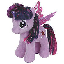 Buy Ty My Little Pony Twilight Beanie Baby Online at johnlewis.com