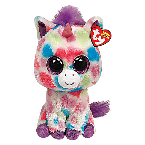 Buy Ty Beanie Boo Wishful Unicorn Soft Toy, 18cm Online at johnlewis.com