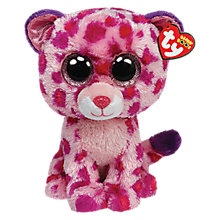 Buy Ty Beanie Boos Glamour Leopard Soft Toy, 18cm Online at johnlewis.com
