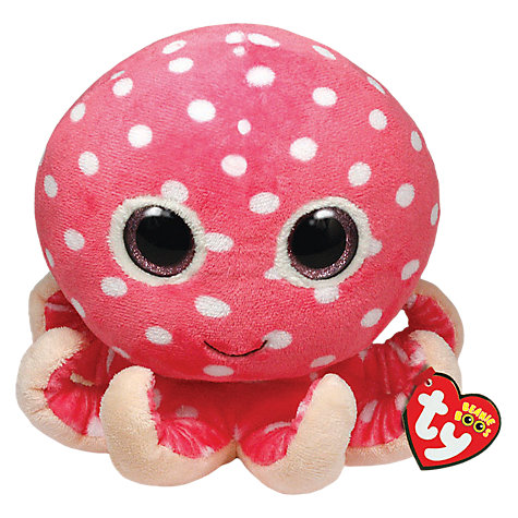 Buy Ty Toys Beanie Boo Ollie Octopus Soft Toy, 18cm Online at johnlewis.com