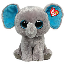 Buy Ty Beanie Boo Peanut Elephant Soft Toy, 25cm Online at johnlewis.com
