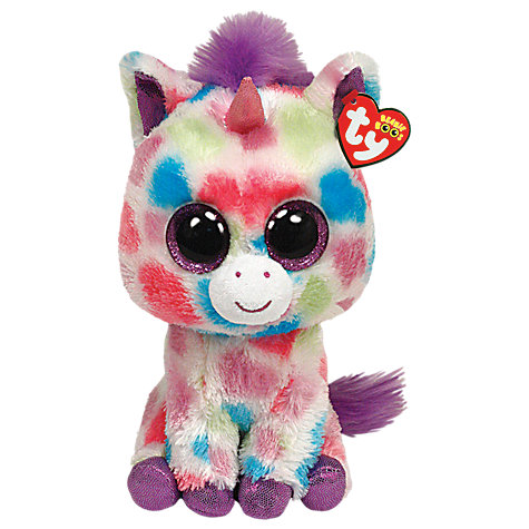 Buy Ty Beanie Boo Wishful Unicorn Soft Toy, 25cm Online at johnlewis.com
