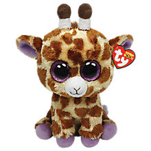 Buy Ty Beanie Boo Safari Giraffe Soft Toy, 25cm Online at johnlewis.com