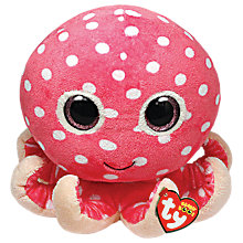 Buy Ty Beanie Boo Ollie Octopus Soft Toy, 25cm Online at johnlewis.com