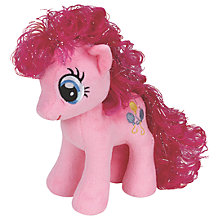 Buy Ty My Little Pony Pinkie Beanie Baby Online at johnlewis.com