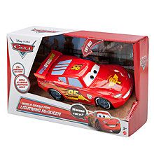 Buy Disney Cars World Grand Prix Lightning McQueen Car Online at johnlewis.com