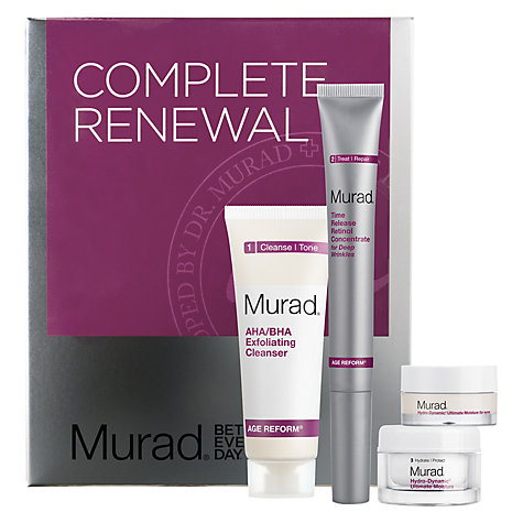 Buy Murad Complete Renewal Skincare Gift Set Online at johnlewis.com
