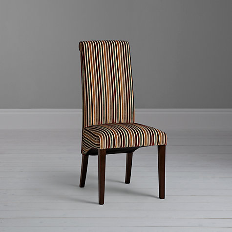 Buy John Lewis Maharani Upholstered Dining Chair, Riga Stripe Online at johnlewis.com
