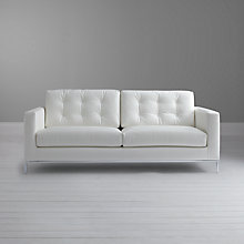 Buy John Lewis Odyssey Large Leather Sofa Online at johnlewis.com