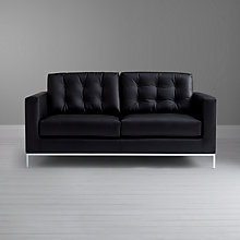 Buy John Lewis Odyssey Medium Leather Sofa Online at johnlewis.com