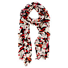 Buy Coast Leopard Print Scarf, Multi Online at johnlewis.com