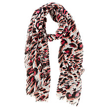 Buy Coast Leopard Scarf, Multi Online at johnlewis.com