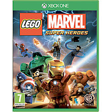 Buy Lego Marvel Super Heroes, Xbox One Online at johnlewis.com