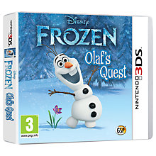 Buy Disney Frozen: Olaf's Quest, 3DS Online at johnlewis.com