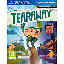 Buy Tearaway, PS Vita Online at johnlewis.com