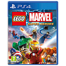 Buy Lego Marvel Super Heroes, PS4 Online at johnlewis.com