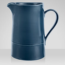 Buy John Lewis Croft Collection Large Jug, Blue Online at johnlewis.com
