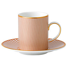 Buy Wedgwood Palladian Espresso Cup & Saucer Set Online at johnlewis.com
