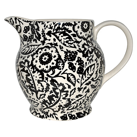Buy Emma Bridgewater Black Wallpaper Six Pint Jug Online at johnlewis.com