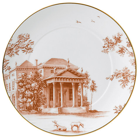 Buy Wedgwood Palladian Accent Side Plate, Dia.21cm Online at johnlewis.com