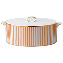 Buy Wedgwood Palladian Covered Vegetable Dish, H10 x W17 x L24cm Online at johnlewis.com