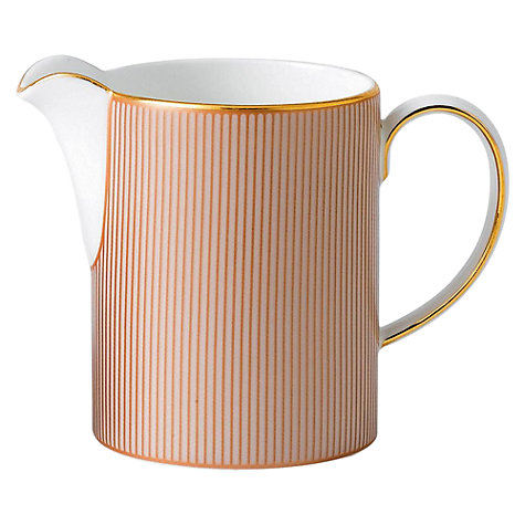 Buy Wedgwood Palladian Cream Jug Online at johnlewis.com