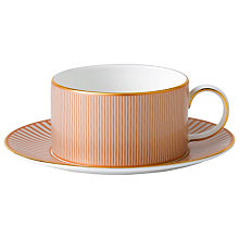 Buy Wedgwood Palladian Tea Cup & Saucer Online at johnlewis.com