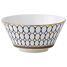 Buy Wedgwood Renaissance Cereal Bowl, Dia.14cm Online at johnlewis.com