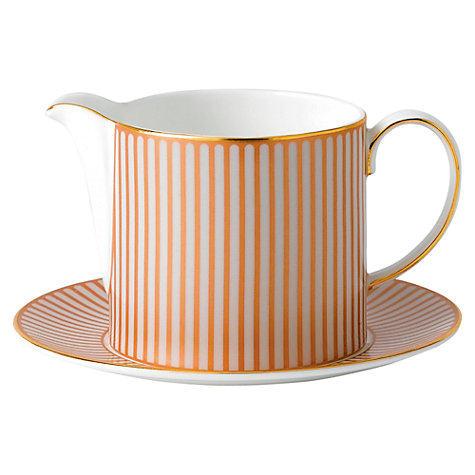 Buy Wedgwood Palladian Sauce Jug Online at johnlewis.com
