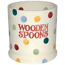 Buy Emma Bridgewater Polka Dot Utensils Jar Online at johnlewis.com