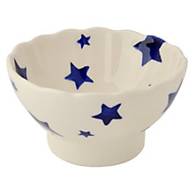 Buy Emma Bridgewater Starry Skies Fluted Bowl, Dia.10cm Online at johnlewis.com