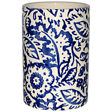Buy Emma Bridgewater Wallpaper Vase, Blue Online at johnlewis.com