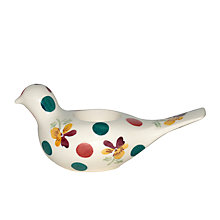 Buy Emma Bridgewater Polka Pansy Dove Tealight Holder Online at johnlewis.com