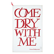 Buy Emma Bridgewater Come Dry With Me Tea Towel Online at johnlewis.com
