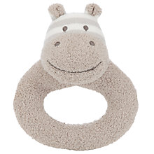 Buy John Lewis Hippo Ring Rattle Online at johnlewis.com