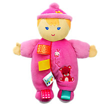 Buy Taggies Cozy Cutie Baby Doll Online at johnlewis.com