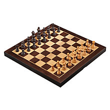 Buy John Lewis Wooden Chess Set, Large Online at johnlewis.com