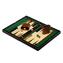 Buy John Wooden Backgammon Set Online at johnlewis.com