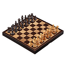 Buy John Lewis Wooden Chess Set Online at johnlewis.com
