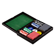 Buy John Lewis Wooden Poker Set Online at johnlewis.com