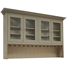 Buy Neptune Suffolk 6ft Glazed Rack Dresser Top Online at johnlewis.com
