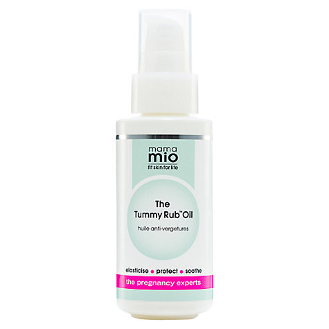 Mama Mio Stretch Mark Cream ML. Brand: mama mio Mama Mio, the pregnancy experts present the Goodbye Stretch Marks Stretch Mark Minimiser which is a lightweight cream specially formulated to improve the appearance of uneven skin.