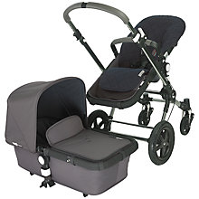 Buy Bugaboo Cameleon3 Henley Pushchair, Special Edition, Grey Online at johnlewis.com