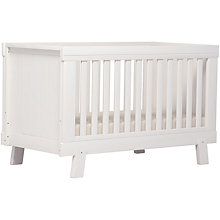 Buy John Lewis Stockholm Cotbed, White Online at johnlewis.com